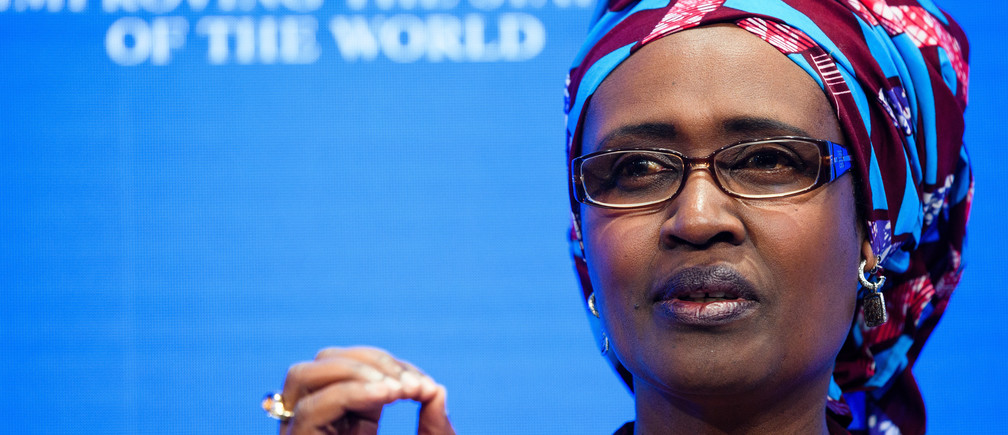 "Winnie Byanyima, Executive Director, Oxfam International, United Kingdom speaking during the Session ""Taxation without Borders: A Fair Share from Multinationals"" at the Annual Meeting 2017 of the World Economic Forum in Davos, January 19, 2017.Copyright by World Economic Forum / Manuel Lopez"