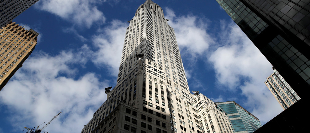 New York City's iconic Chrysler Building that was opened in 1930 on East 42nd Street is seen in Manhattan, New York, U.S., January 9, 2019. REUTERS/Mike Segar - RC1591DBDF10