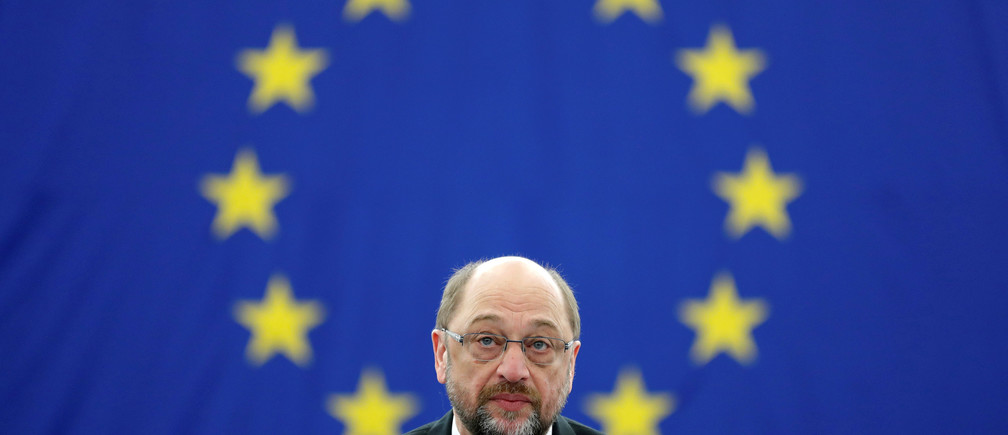 Outgoing President  of the European Parliament President Martin Schulz attends the presentation of the candidates for the election to the office of the President at the European Parliament in Strasbourg, France, January 17, 2017. REUTERS/Christian Hartmann - RTSVUO4