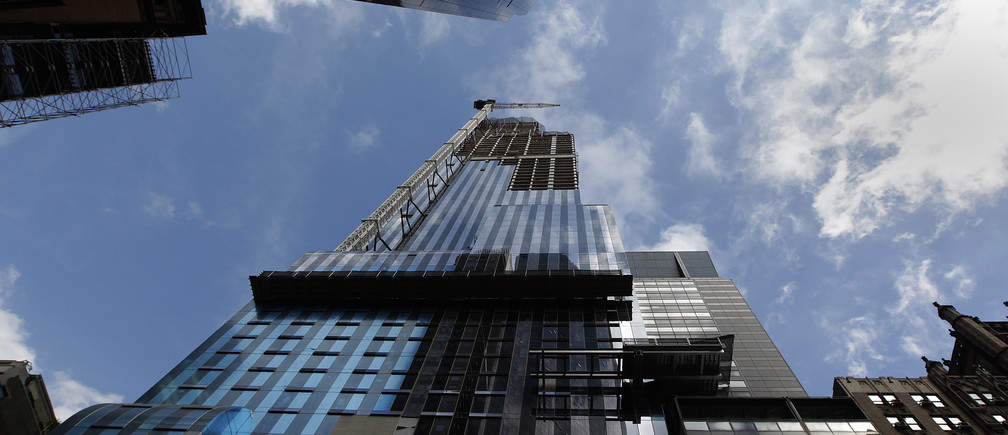 The tower at 157 West 57th Street is seen in New York, September 20, 2012.