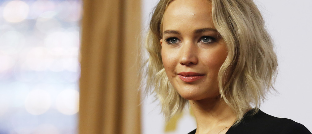 Actress Jennifer Lawrence arrives at the 88th Academy Awards nominees luncheon in Beverly Hills, California.