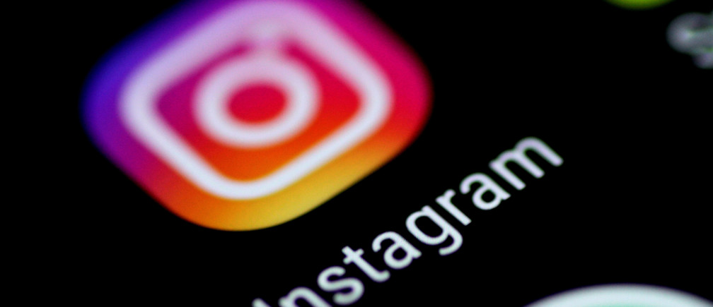 The Instagram application is seen on a phone screen August 3, 2017.   REUTERS/Thomas White - RTS1A6JI