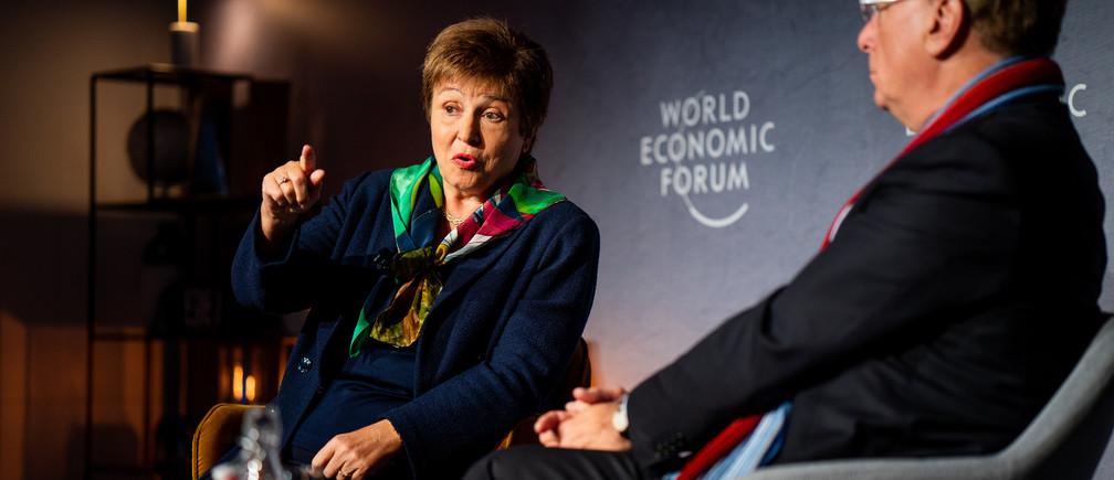 Kristalina Georgieva, FMI, sobre la respuesta al coronavirus.