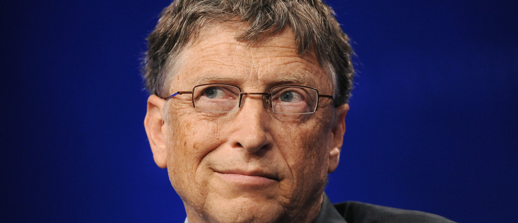"Bill Gates, Microsoft Chairman and Co-Chair and Trustee of the Bill & Melinda Gates Foundation, takes part in a panel discussion titled ""Investing in African Prosperity"" at the Milken Institute Global Conference in Beverly Hills, California May 1, 2013."