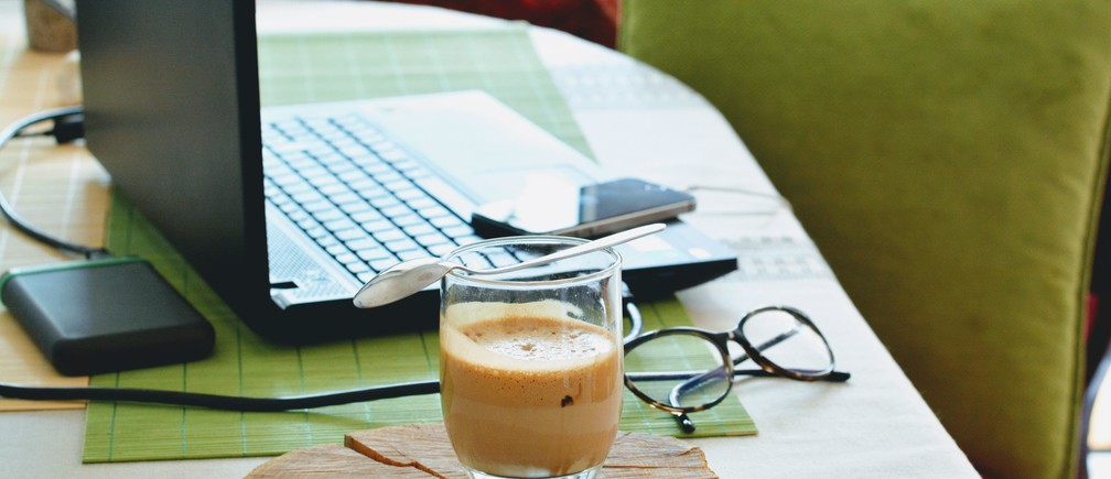 Coffee Desk work