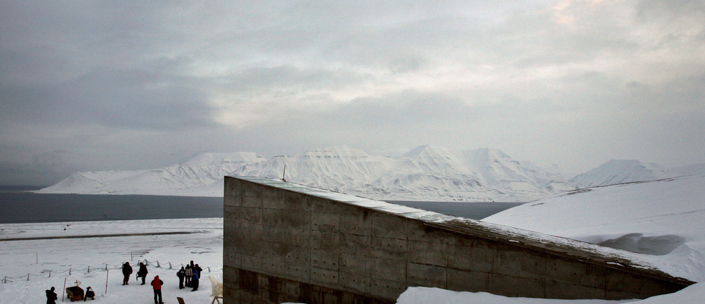 Buried 400 Feet Into A Mountain The Doomsday Vault Is Keeping
