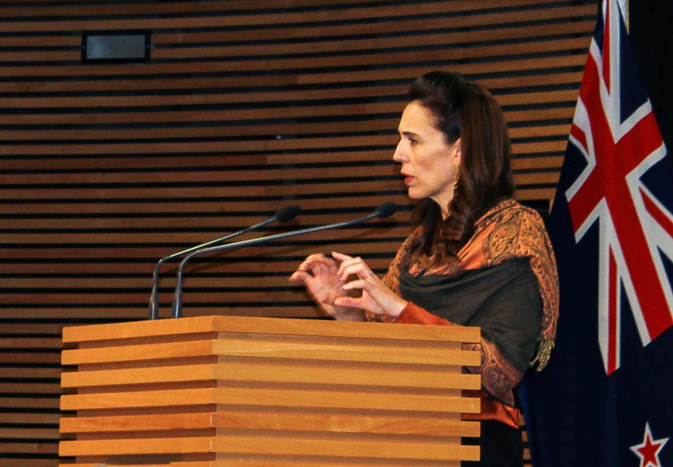image of New Zealand's Prime Minister, Jacinda Ardern