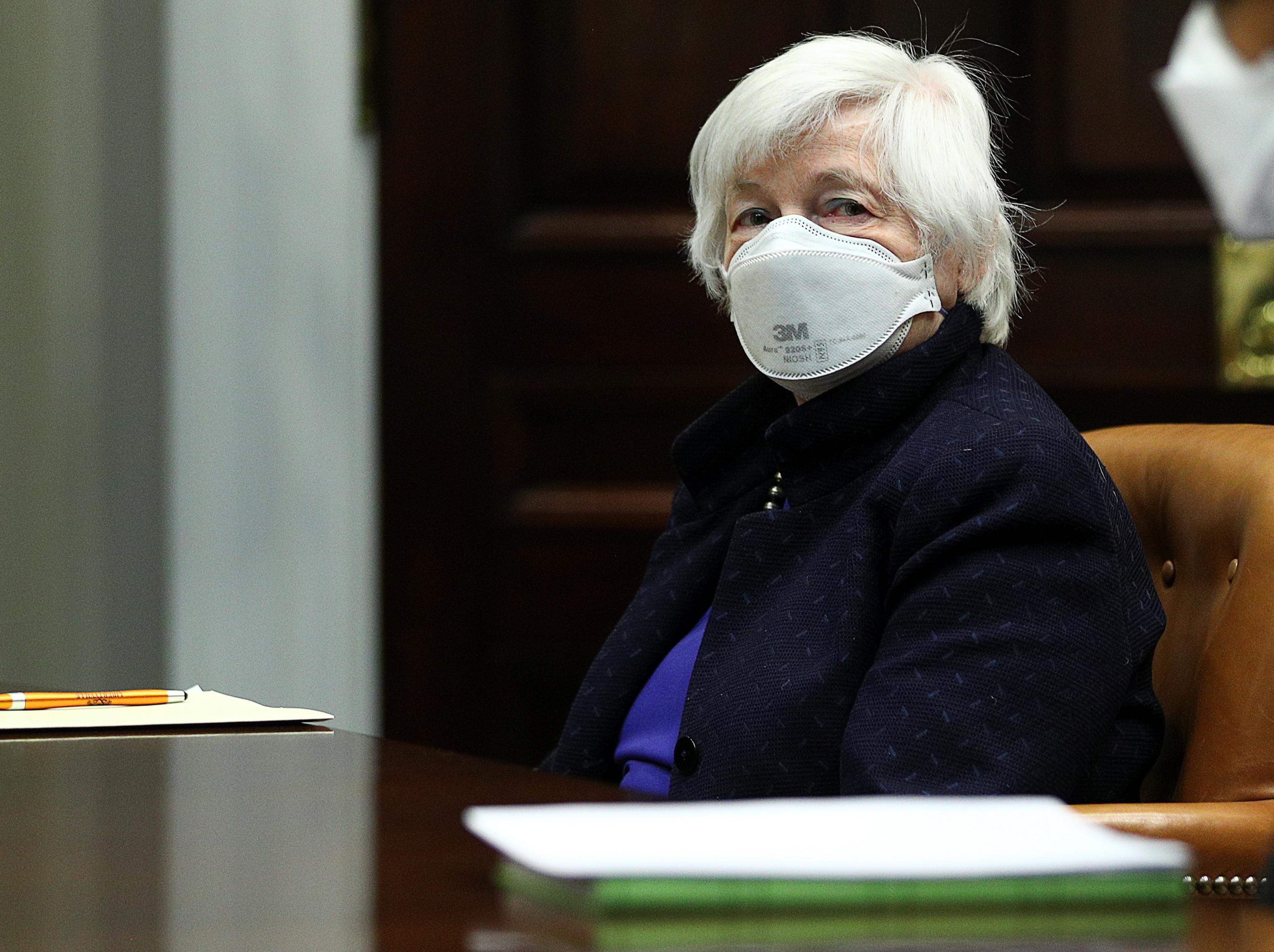 image of U.S. Treasury Secretary Janet Yellen