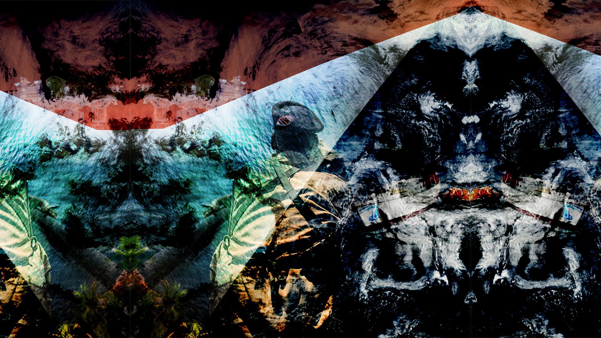 Album cover by Raphaela Morais, The Outlaw Ocean Project.