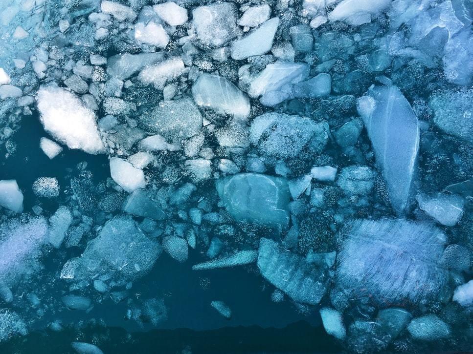 Antarctica sea ice.