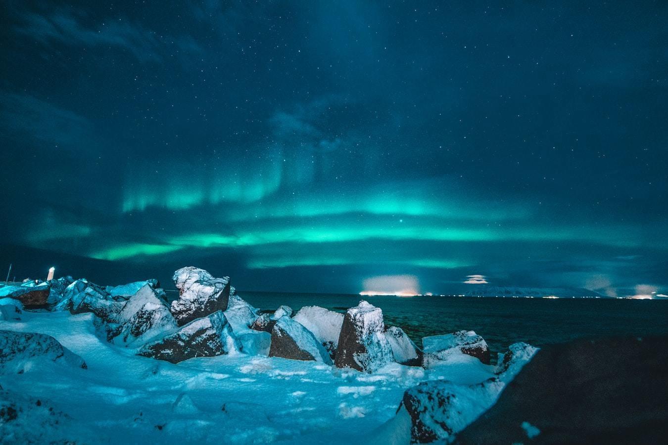 Peaceful region, iceland.