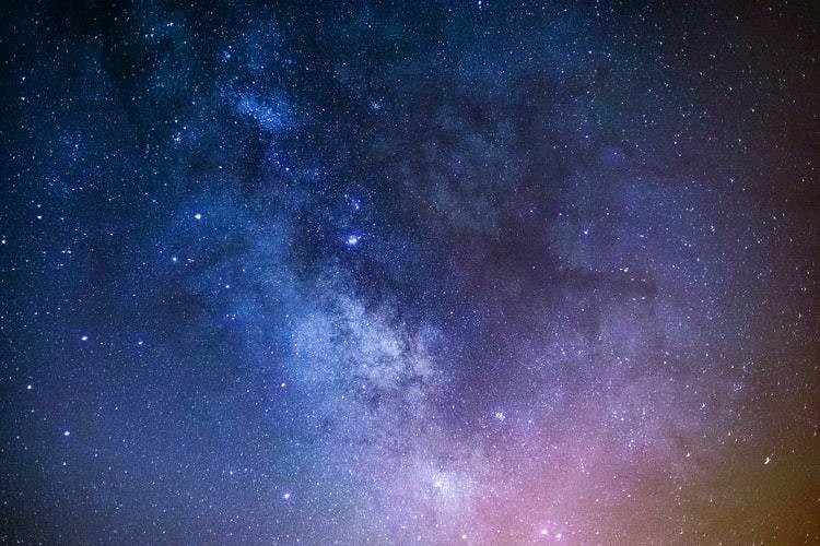photo of the milkyway