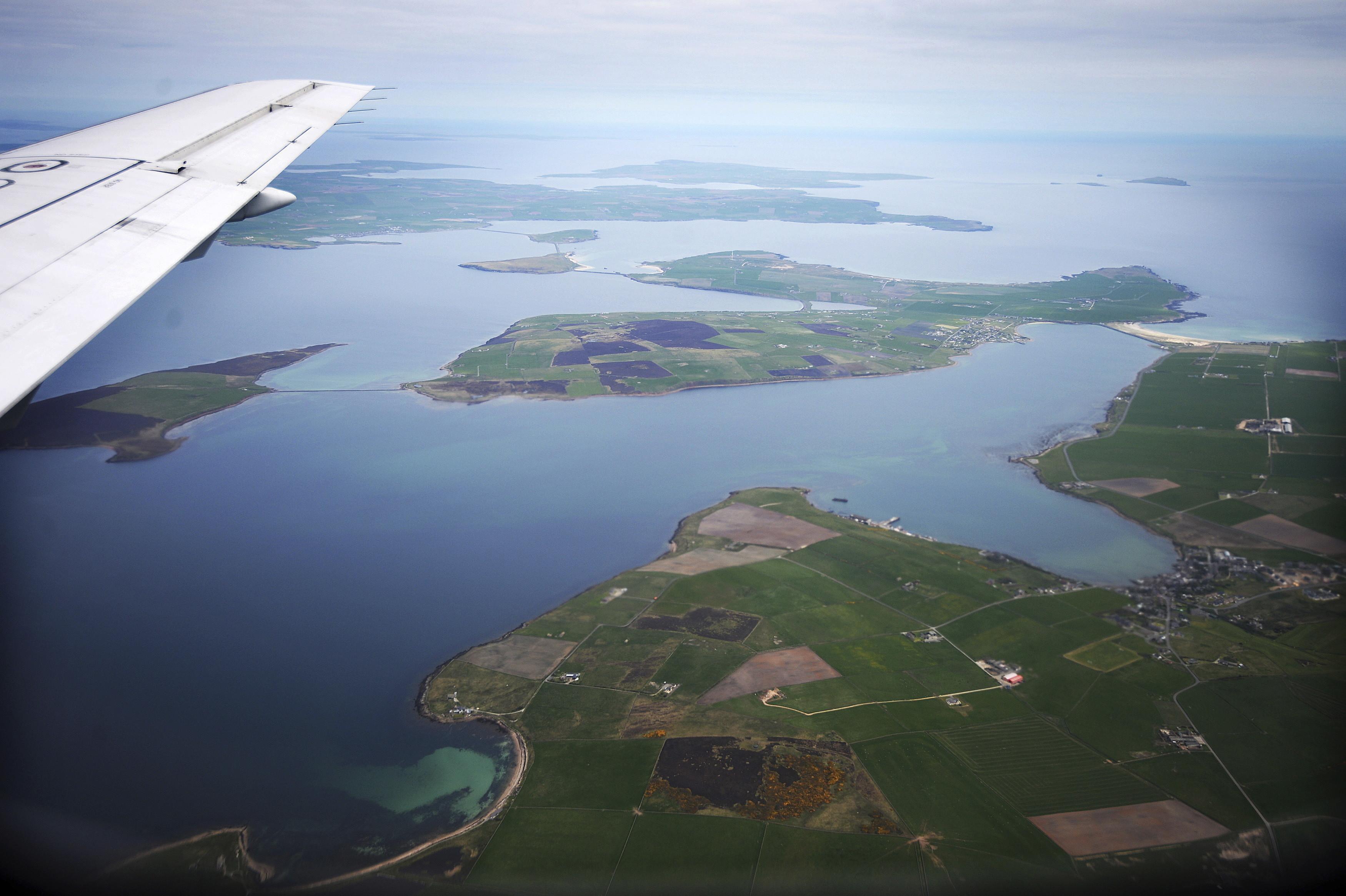 El proyecto de las Islas Orcadas de Escocia.