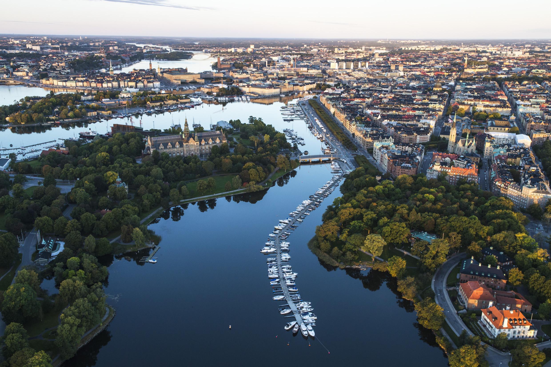Djurgårdsbrunnsviken, Stockholm.