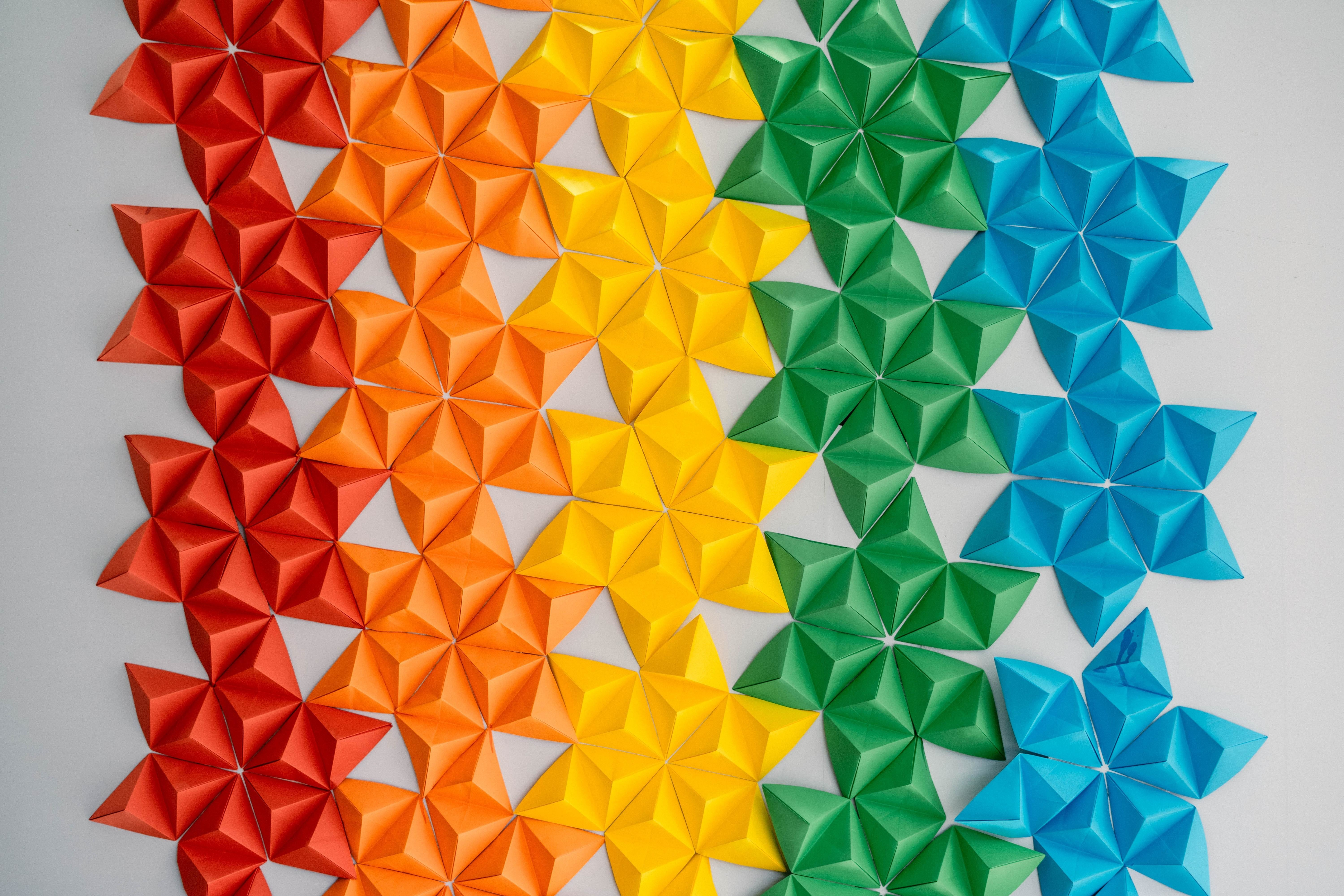 The method Kirigami, which is a variation of the origami you can see above, has inspired scientists to research a range of new and innovative structures