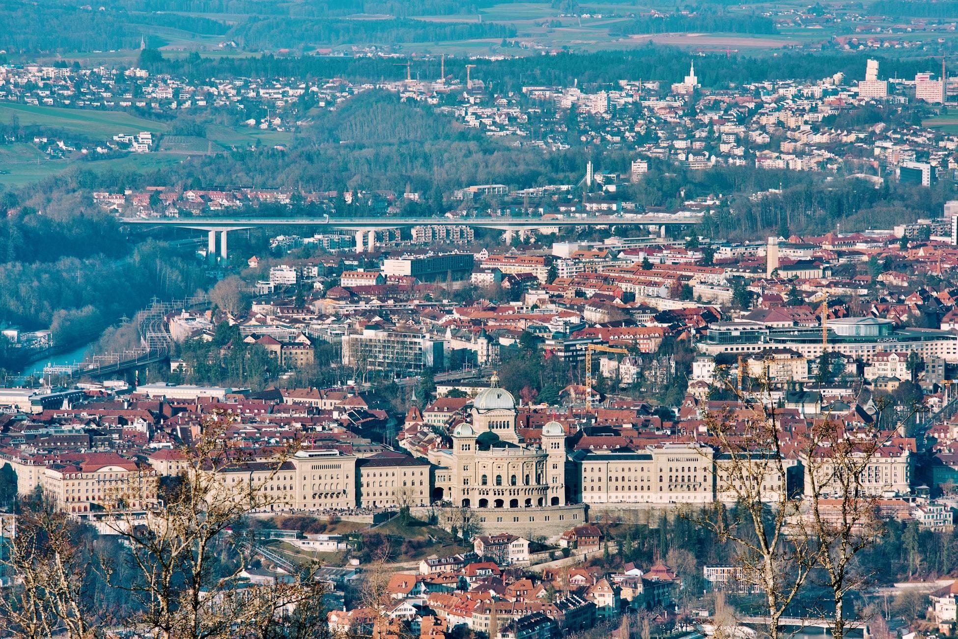 The Swiss Parliament in Bern