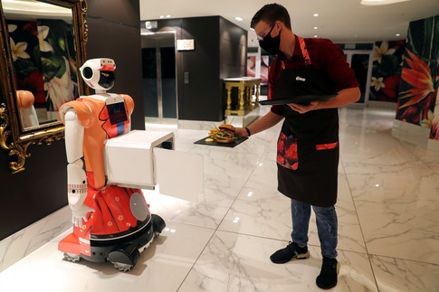 South African Hotel Uses Robots In Response To Covid 19 World Economic Forum