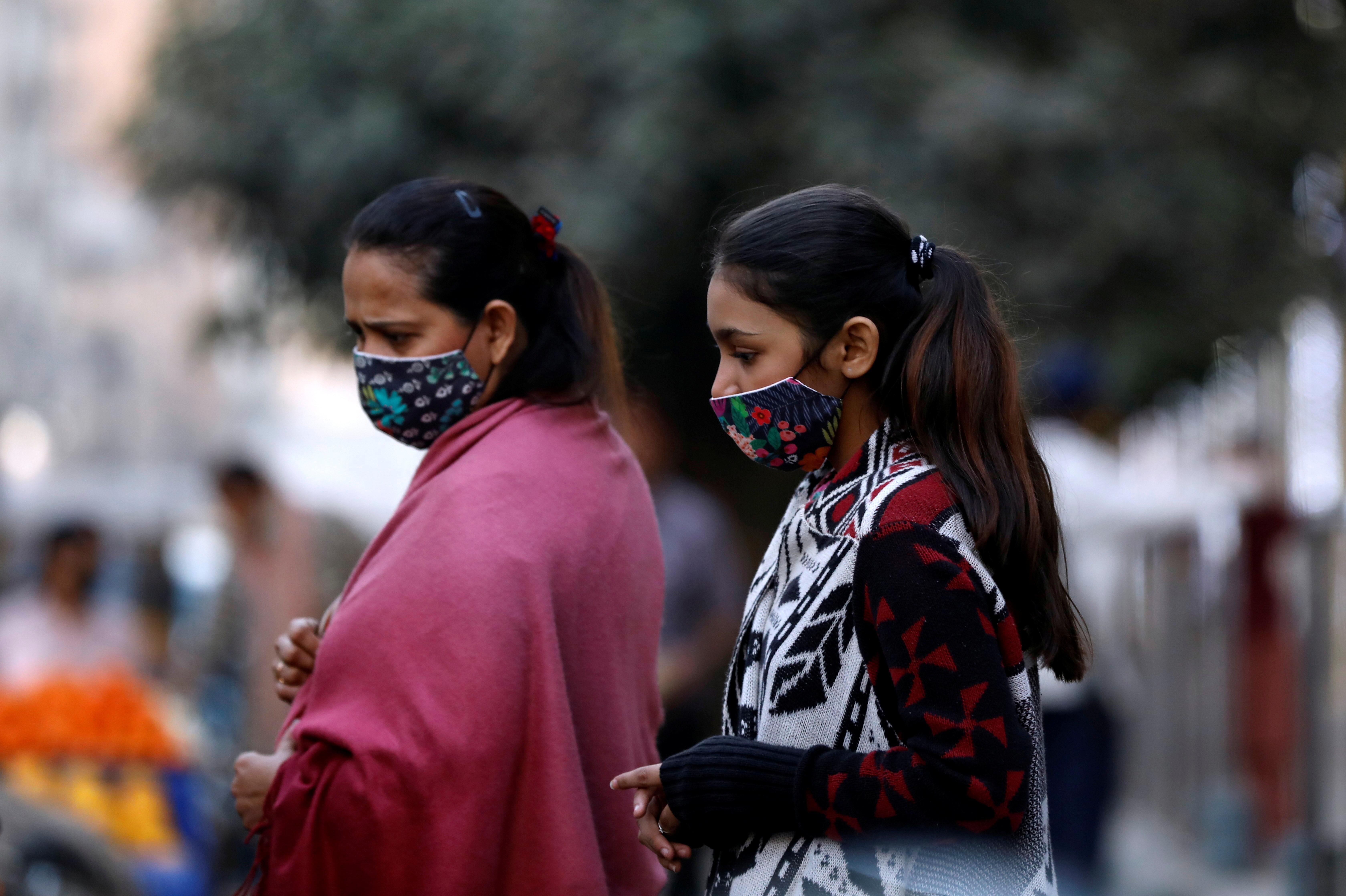 Women wearing masks during COVID-19