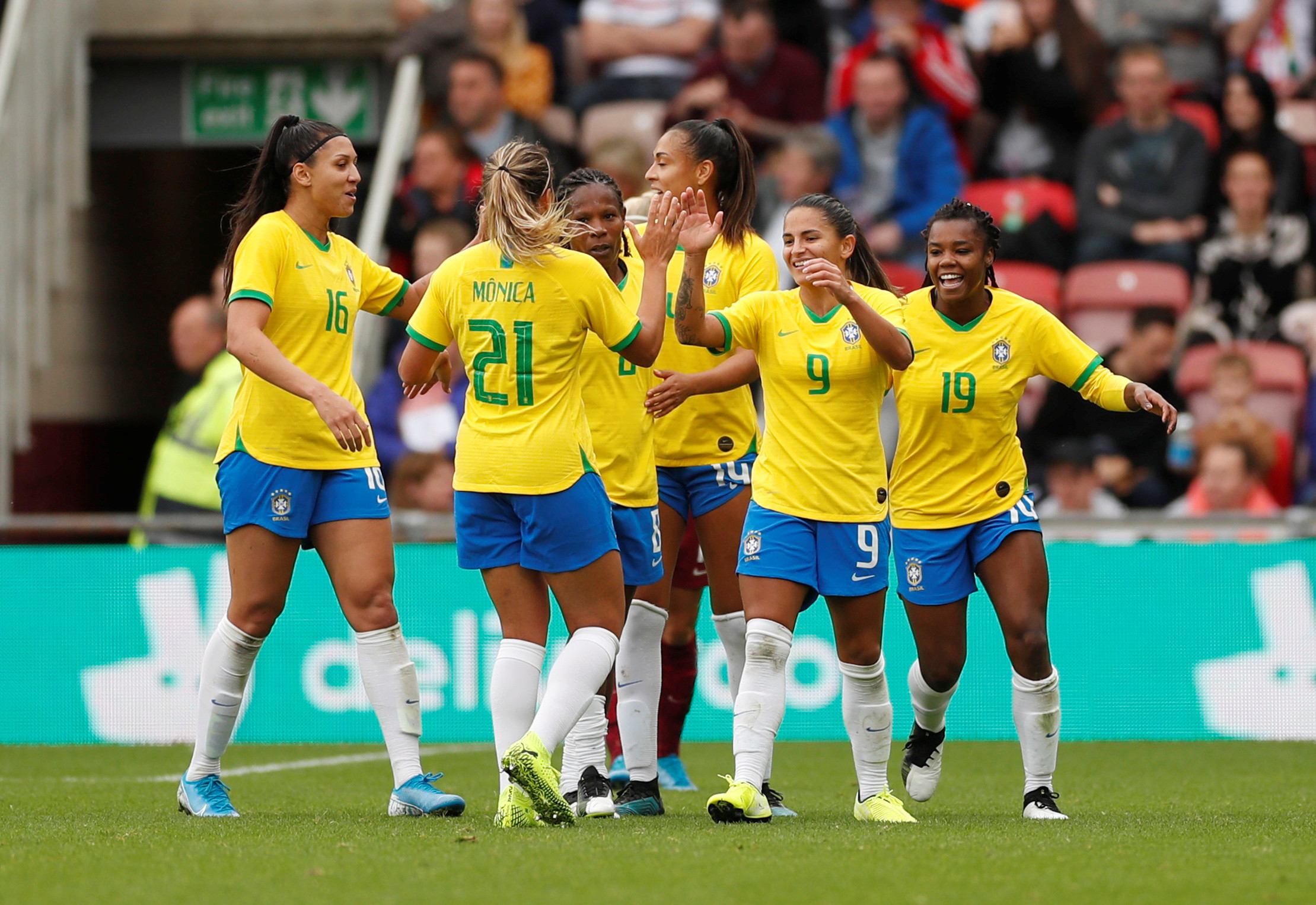 Brazil announces equal pay for men's and women's national soccer teams