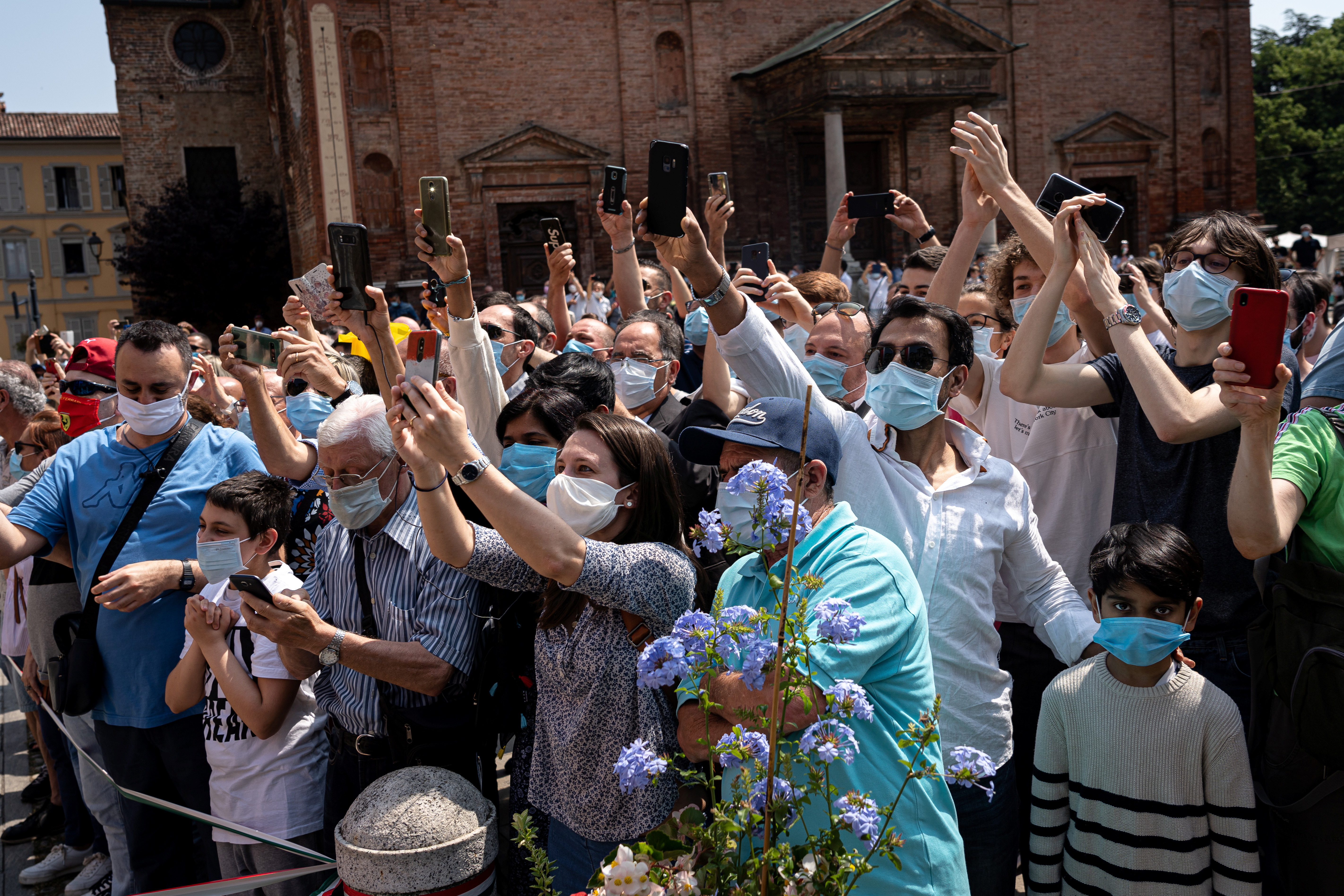 La ciudad italiana de Vò no ha informado de ningún síntoma en el 40% de sus casos de coronavirus.