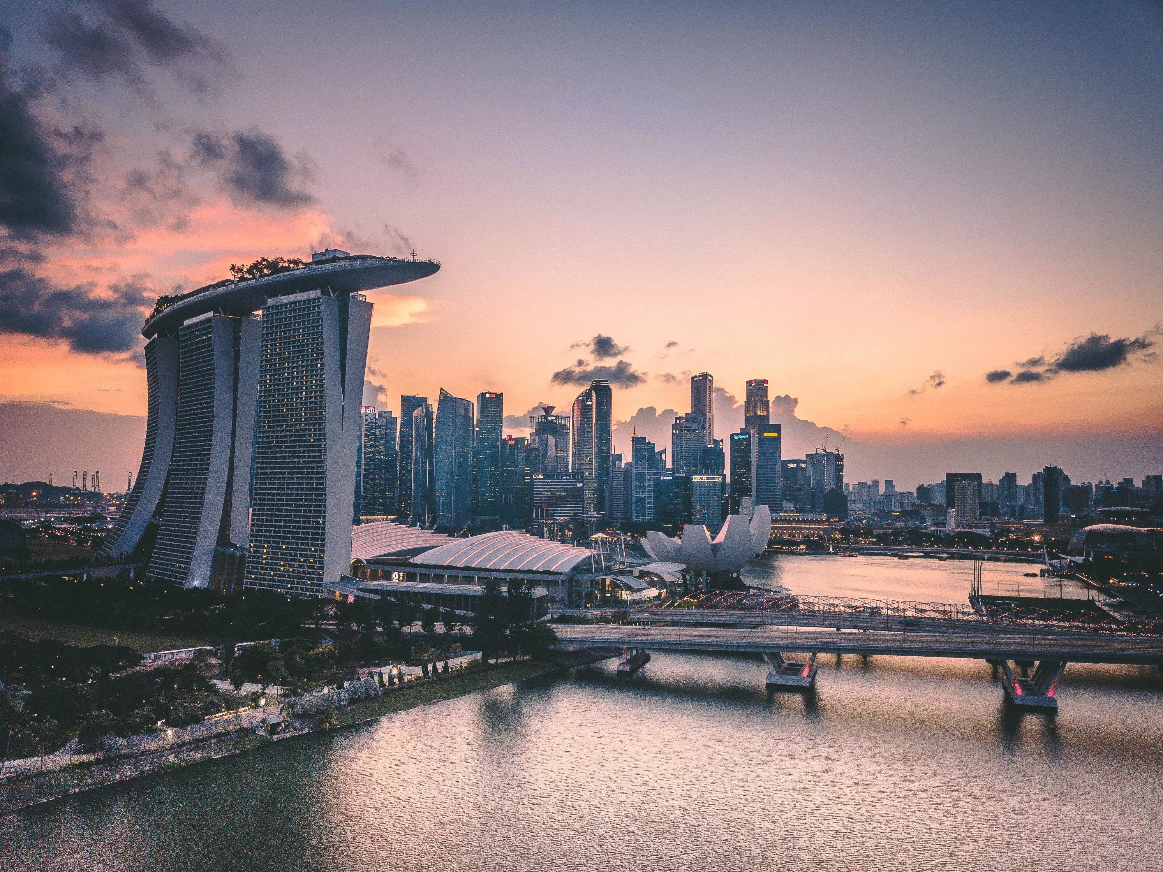 A picture of Singapore.