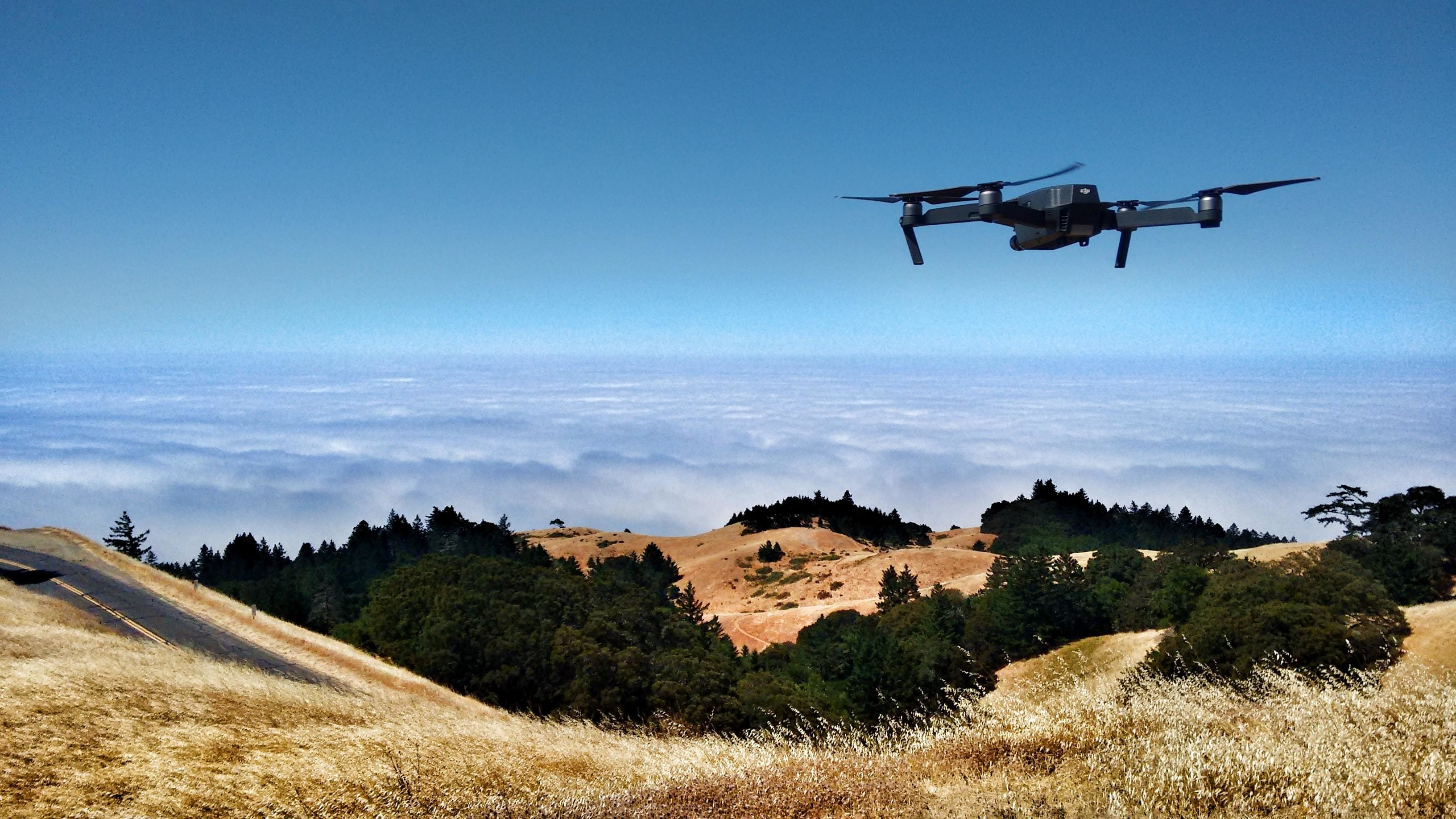 drones, like this one shown here, are helping to oversea conservation efforts