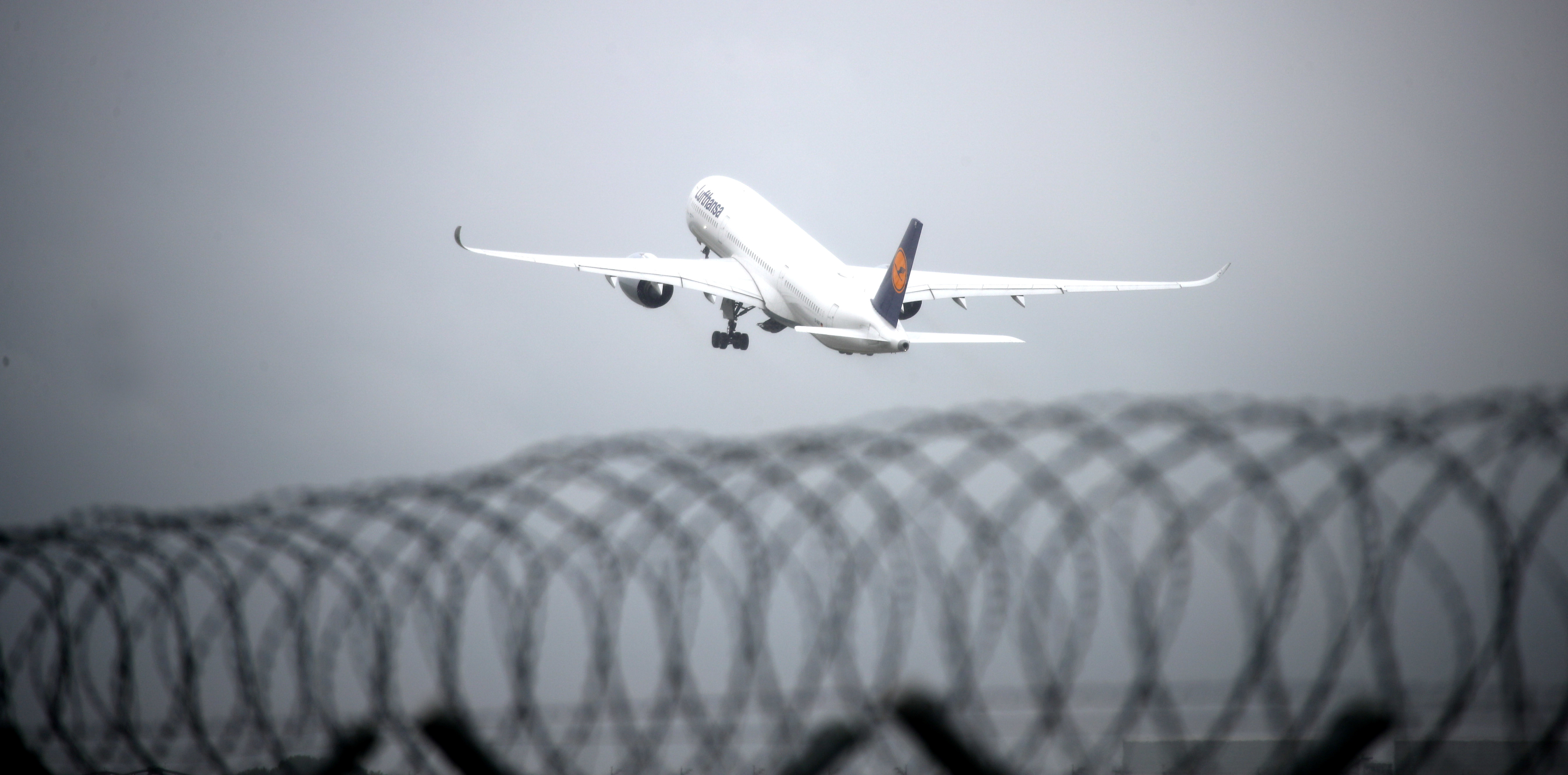 An Airplane of German carrier Lufthansa takes off from Munich International Airport, Germany, August 4, 2020. REUTERS/Michael Dalder - RC227I94WDX0