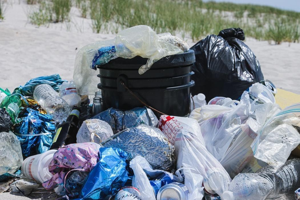 image of plastic waste
