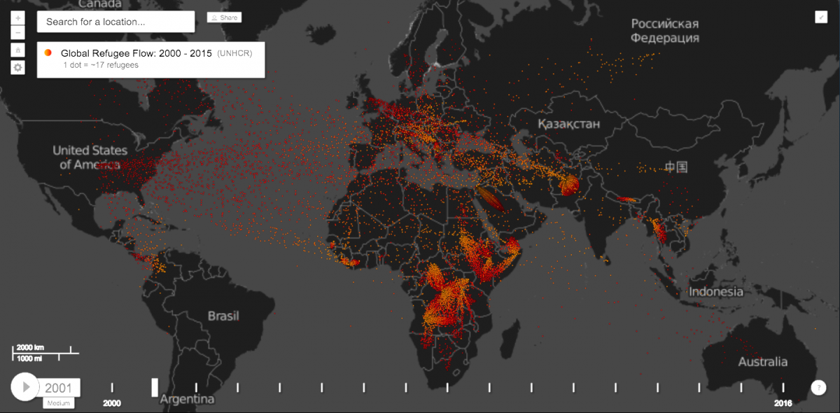 15 years of migration in 15 mesmerizing maps world economic forum image unhcr gumiabroncs Gallery