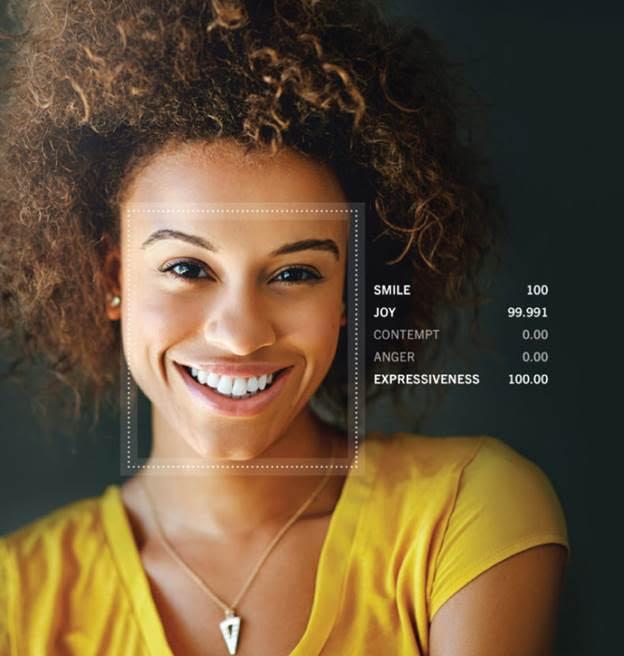 Facial emotion software for
