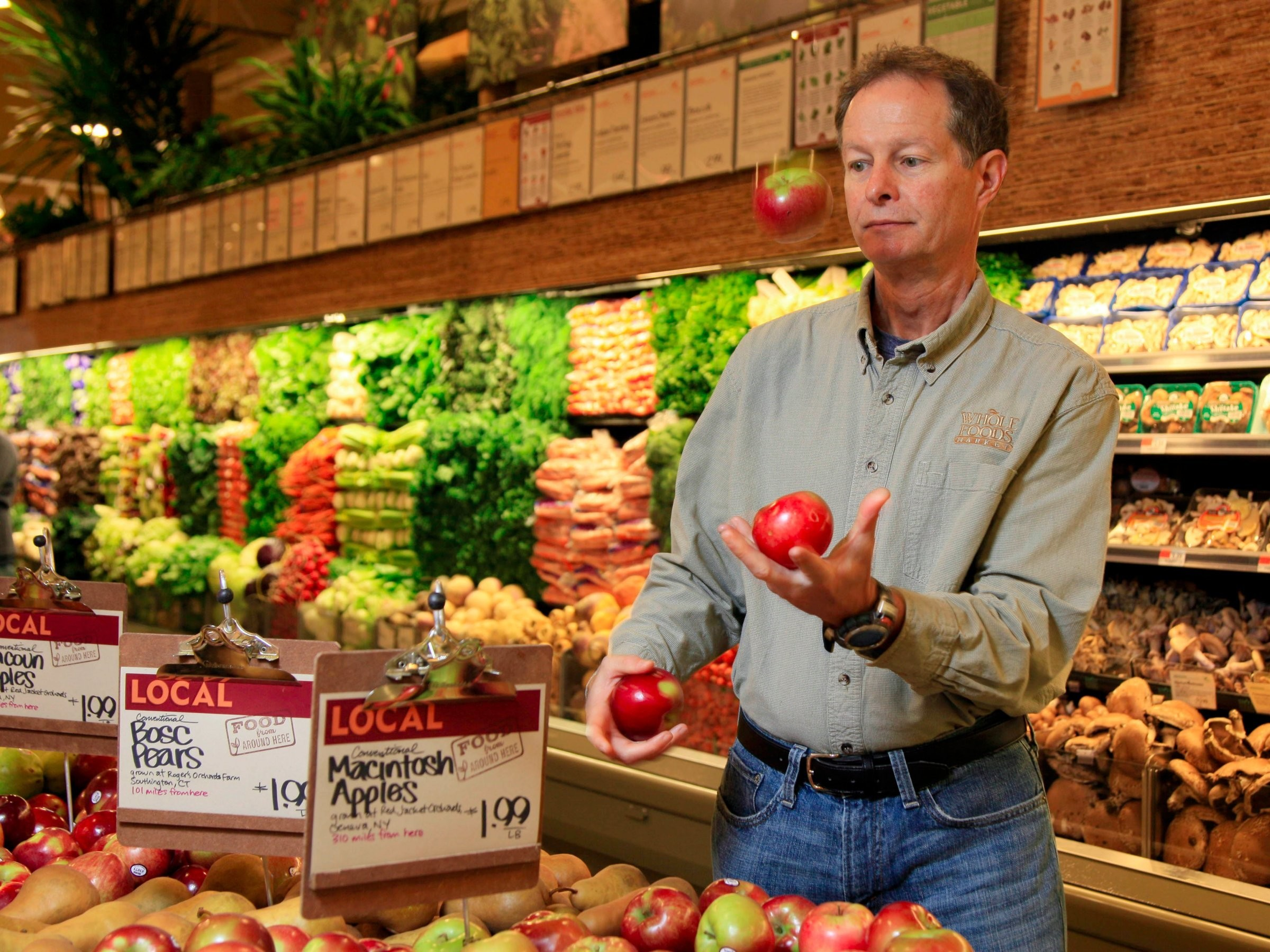 John Mackey, CEO of Whole Foods, opened up salaries at his company more than 30 years ago.