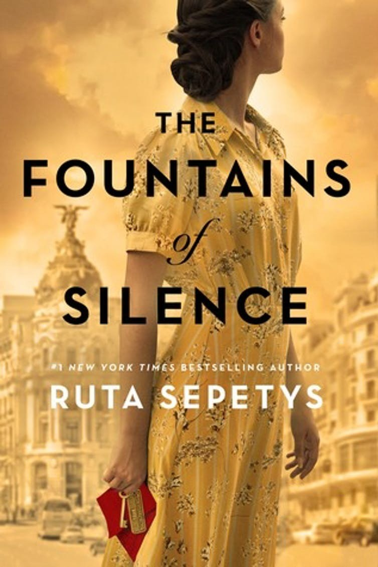 book cover literature fountains of silence penguin ruta sepetys new york times