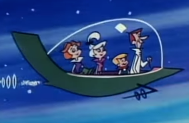 A 50-year wait and counting … the Jetsons' famous flying car.