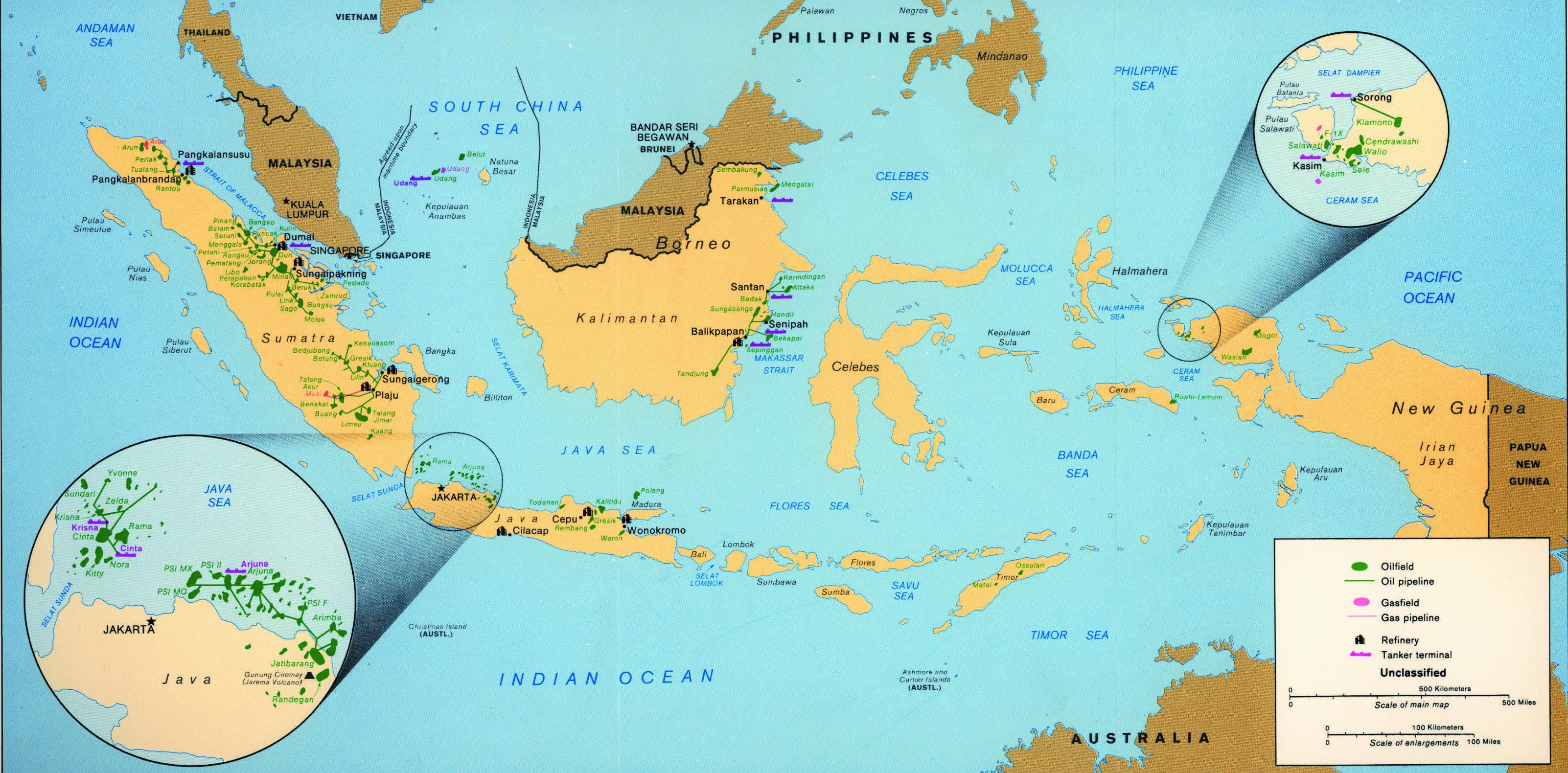Indonesia oil and gas