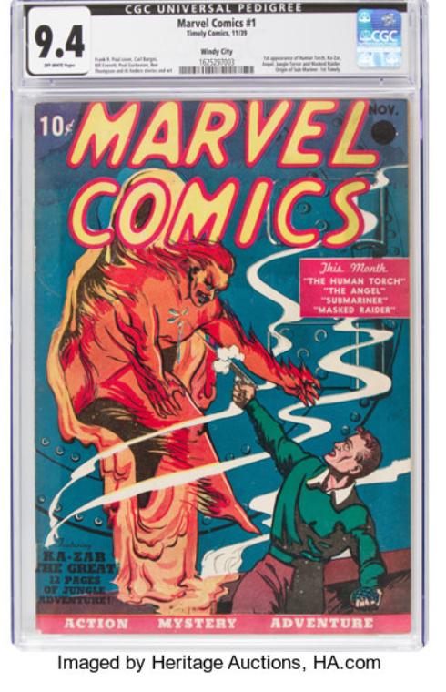 Original marvel comic