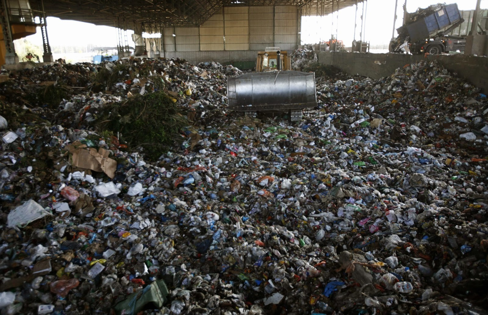 For 50 years, Hiriya landfill, outside Tel Aviv was the dumping ground for much of the country's waste.