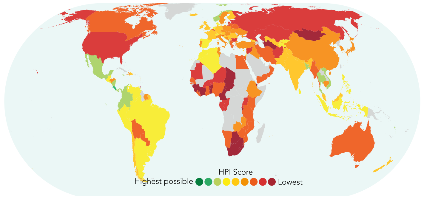 Image result for happiness planet index