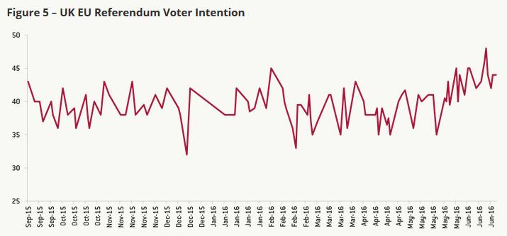 UK EU Referendum Voter Intention