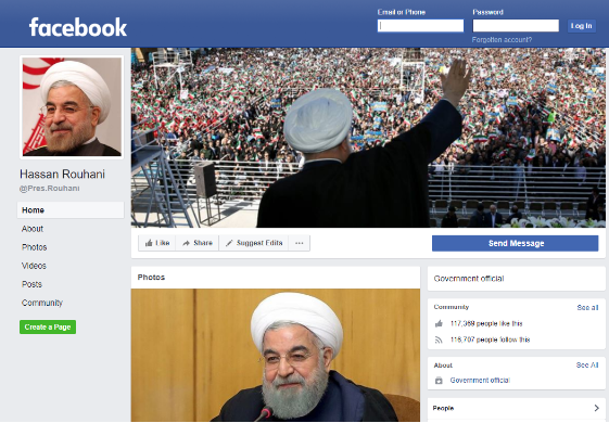 Facebook may be banned in Iran – but it's not stalling the
