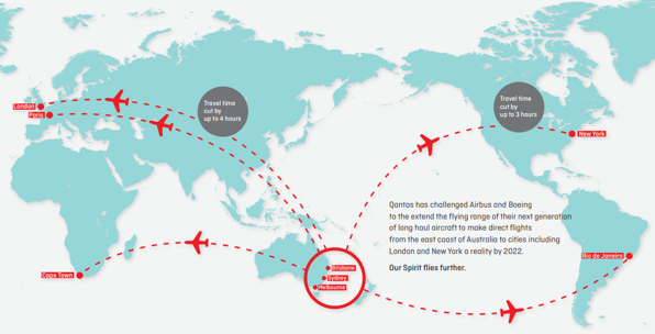 What to expect on an ultra-long-haul flight | World Economic ...