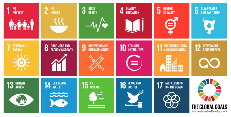 The global goals for sustainable development - the United Nations