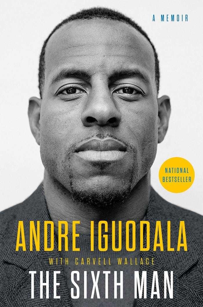'The Sixth Man' by Andre Iguodala nba final warrior america athlete novel literature education Barack Obama