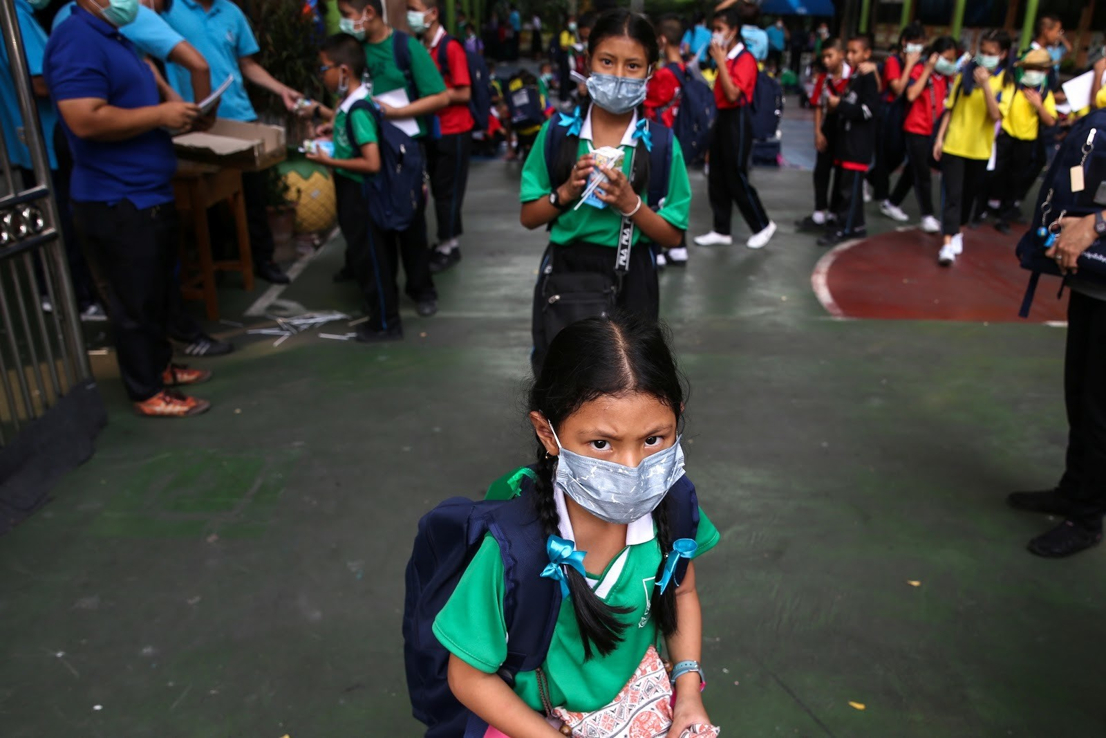 Air pollution in Bangkok, Thailand has forced some schools to close