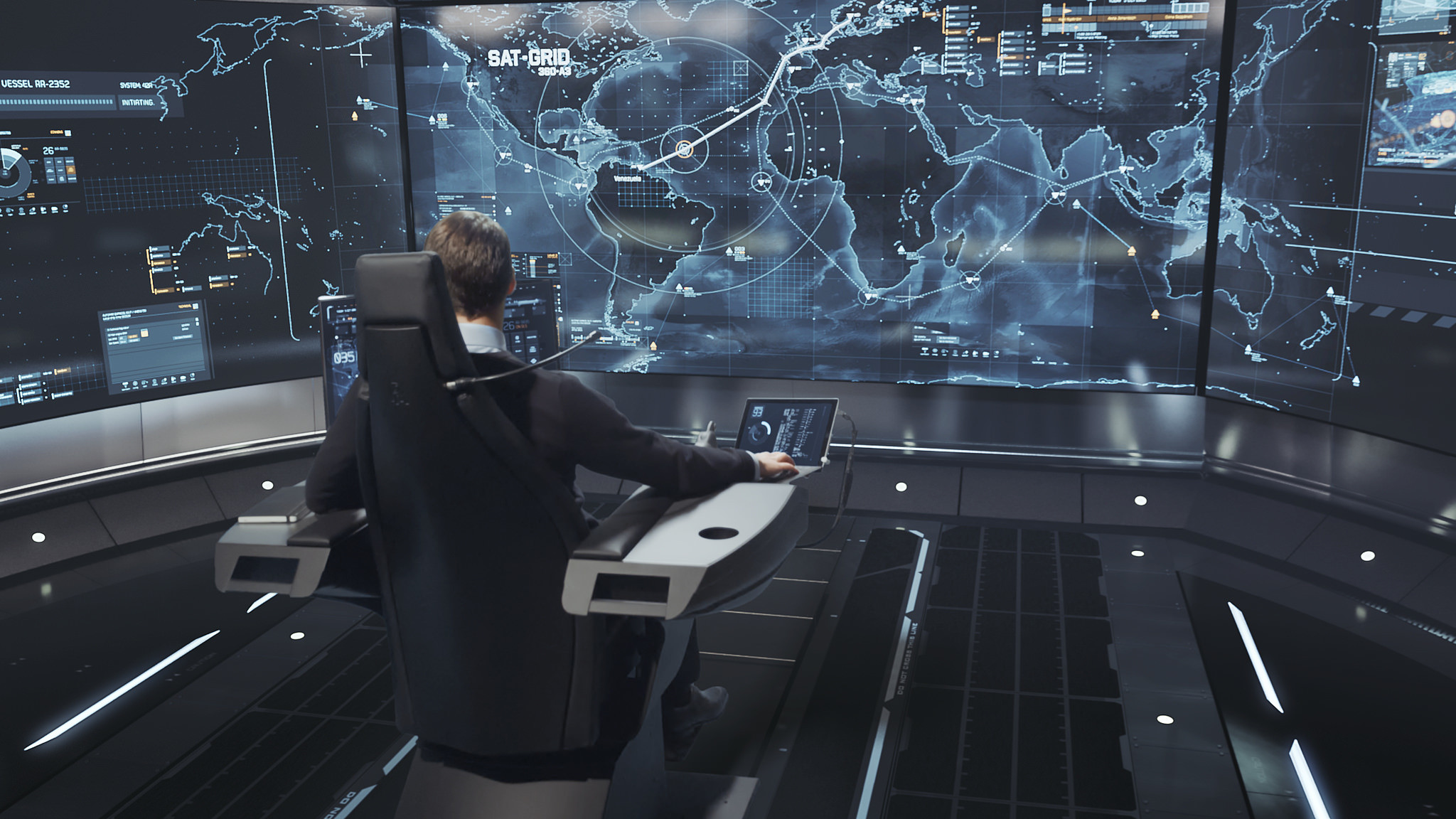 Autonomous ships could be monitored remotely from a command center