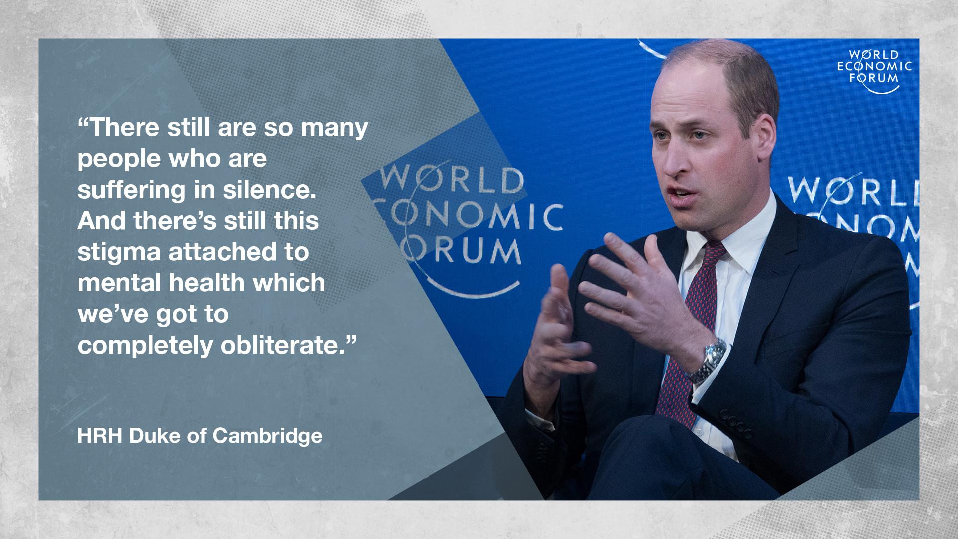 World Mental Health Day Global Leaders Speak Up World Economic Forum