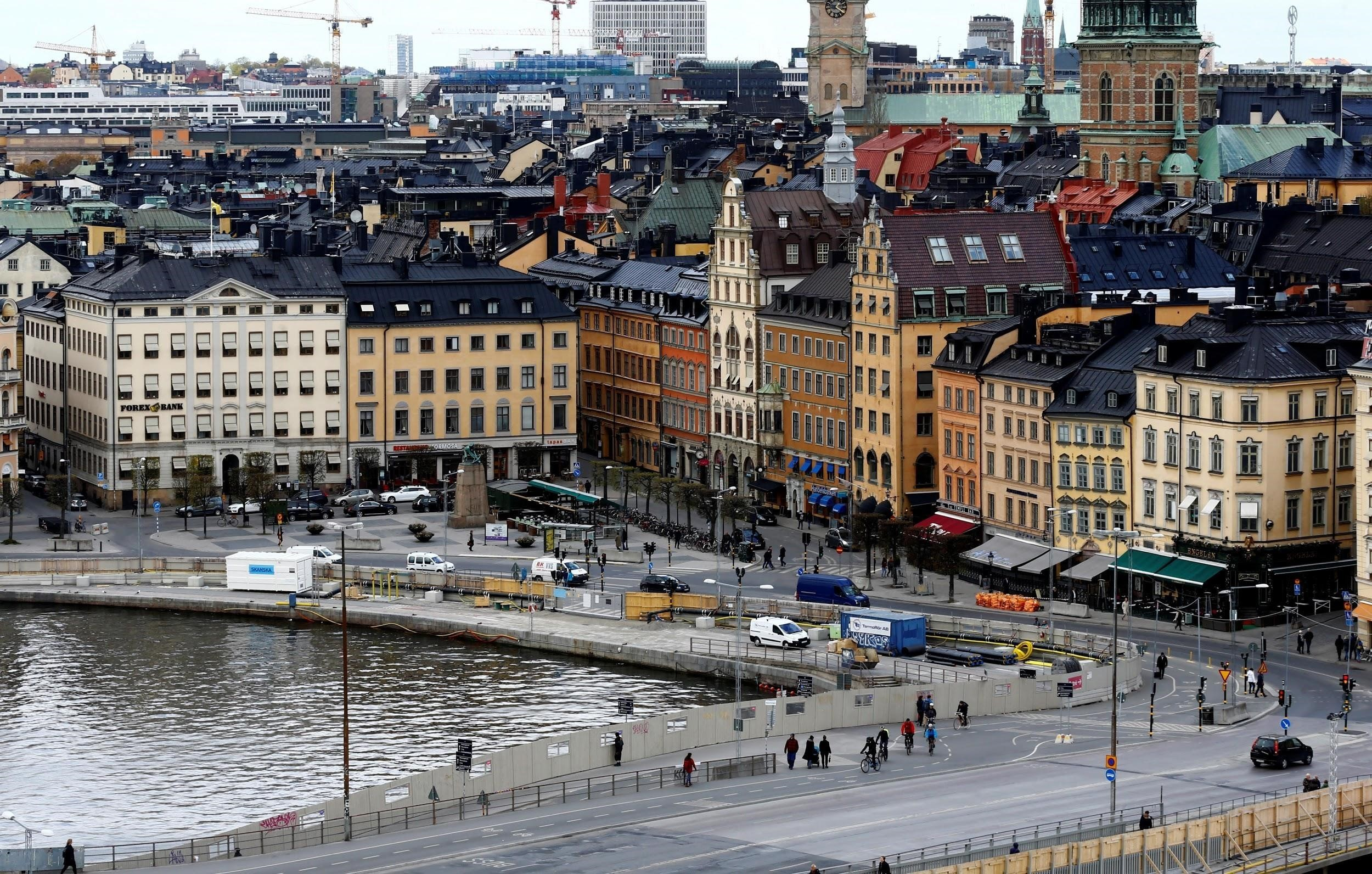 Workers in Stockholm have flexible working hours.