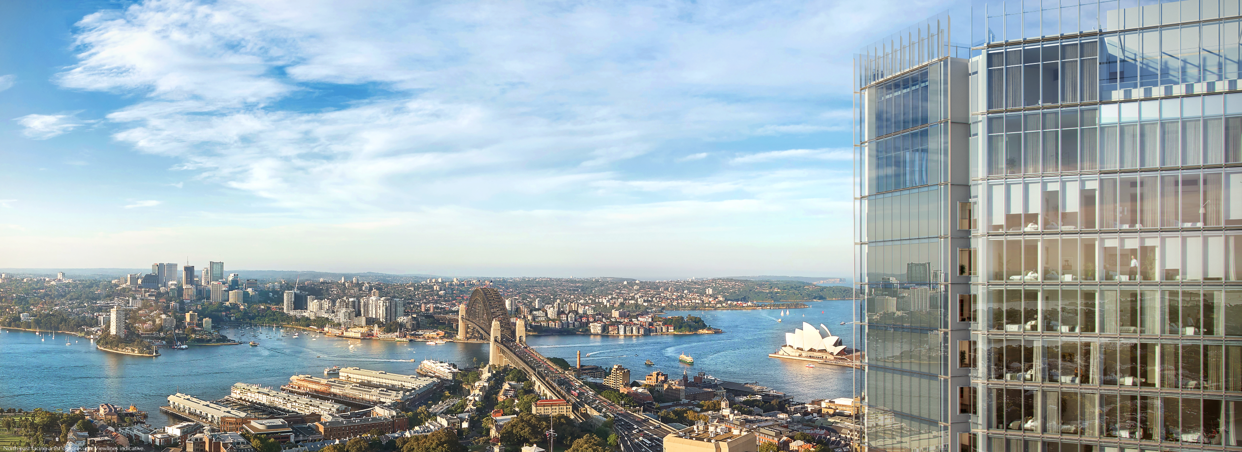 A digital twin was created for Renzo Piano's One Sydney Harbour