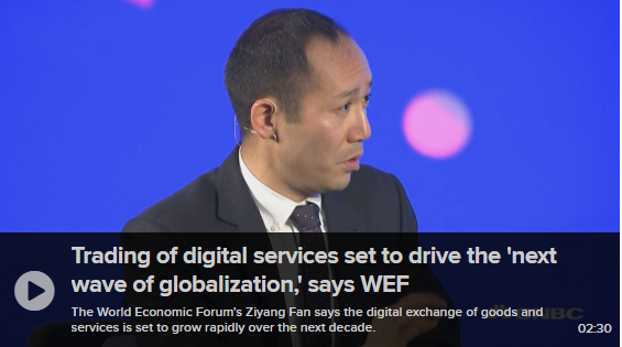 Trading of Digital Services set to drive the 'next wave of globalization'