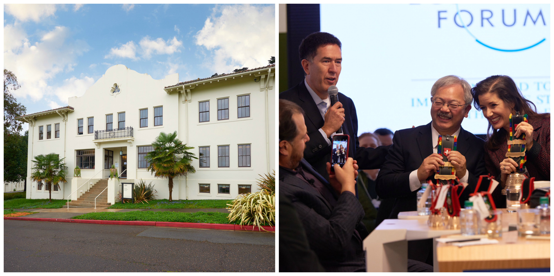 El nuevo Centro para la Cuarta Revolución Industrial tiene sus oficinas en el Presidio de San Francisco y abrió oficialmente sus puertas el 24 de marzo de 2017