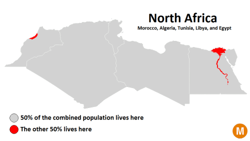 North Africa's population mapped